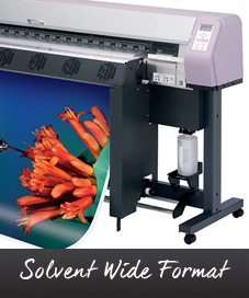 Solvent Wide Format